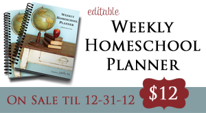 Homeschool Planner Sale 2013 copy