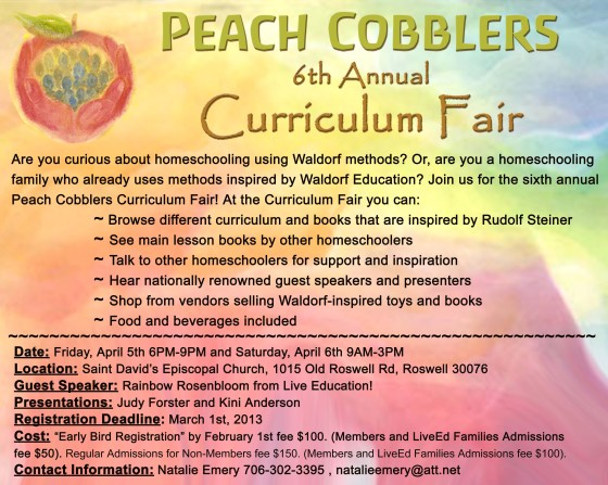 2013 curriculum fair flyer